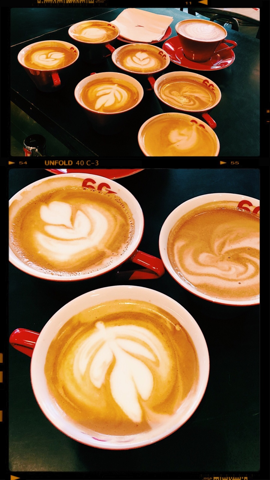 cendrityss_blogueuse_autrian_airlines_café_de_vienne_paris_latte_art